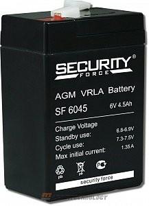 Аккумулятор 6 В, 4.5 Ач