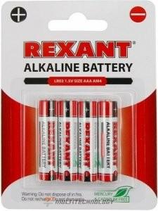 Алкалиновая батарейка AAA/LR03 1,5 V 4 шт. блистер (30-1012)