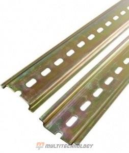 DIN-рейка 13см оцинкованная (YDN10-0013)