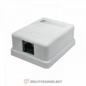 Компьютерная розетка 8P8C (RJ-45) UTP Cat.5e 1 порт(10-0307)