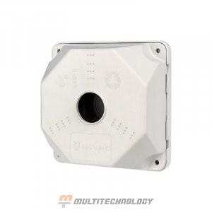 Коробка монтажная для камер видеонаблюдения130х130х50 мм REXANT (28-4001)