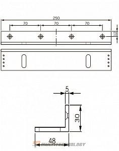 L-кронштейн для EMC 600 ALH и EMC 600-2 ALH