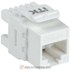 Модуль Keystone Jack кат. 5E UTP 110 IDC (CS1-1C5EU-12)