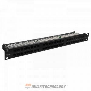"""Патч-панель высокой плотности 19"""" 48хRJ-45 UTP Cat.5e 1U (10-0406)"""