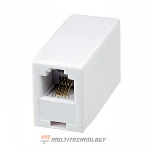 Проходной соединитель 6P4C (RJ-11) (10-0315)