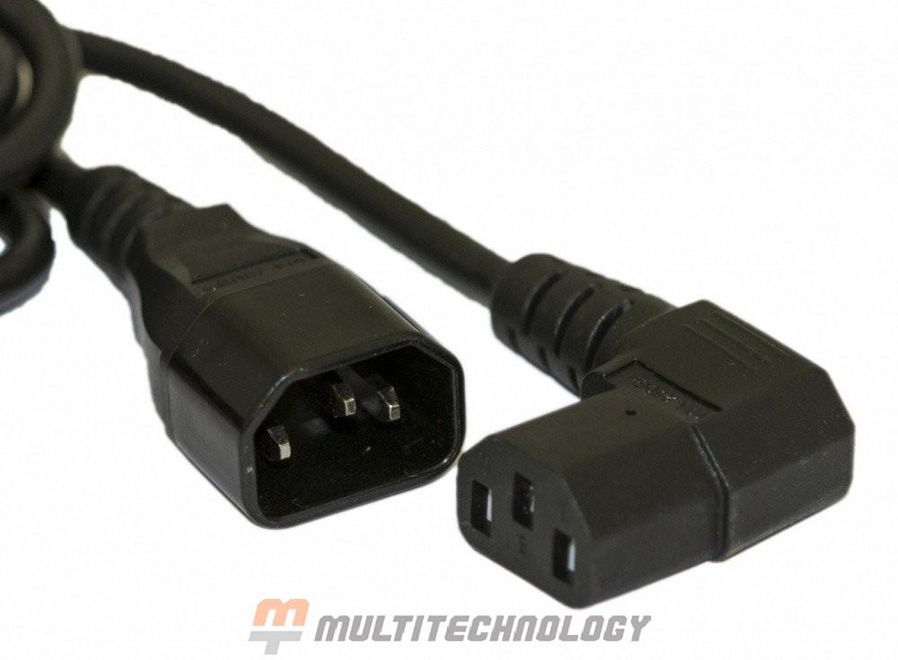 PWC-IEC13A-IEC14-1.0-BK