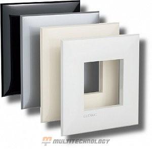 Рамка ARTLEBEDEV черный квадрат Avanti 2 модуля (4402902)