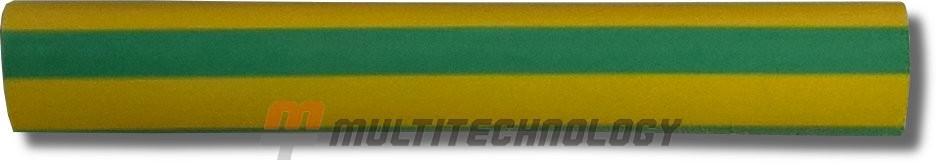 Трубка термоусаживаемая 9,5/4,7мм, желто-зеленый (2NF20195GY)