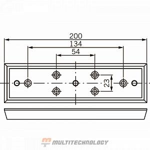 Удерживающая пластина для EMC 600 ALH