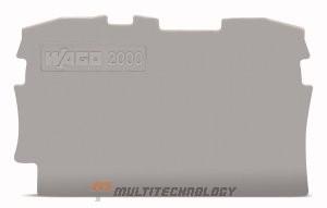 WAGO 2004-1291 пластина торцевая серая