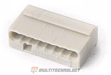 WAGO 243-308 Клемма MICRO 8-проводная светло-серая