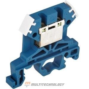 Зажим наборный ЗНИ-4 кв.мм синий (YZN10-004-K07)